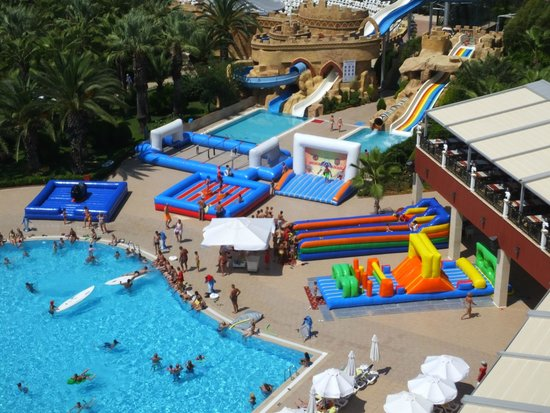 Delphin Deluxe Resort: Olympic games day