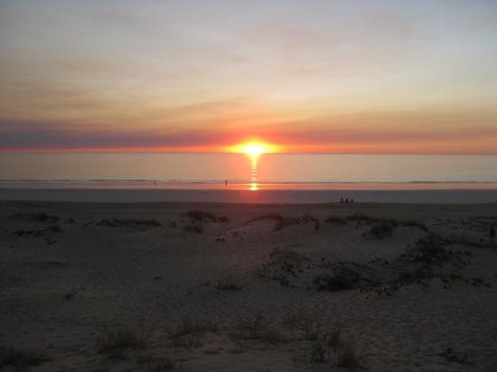 Kimberley Sands Resort & Spa: sunset over the Indian Ocean, Cable Beach