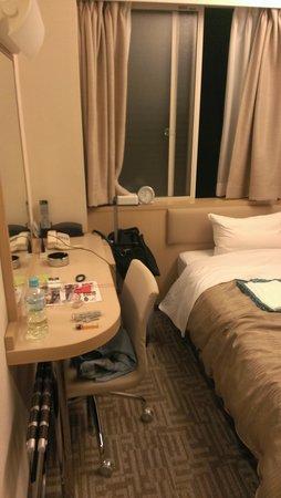 New Central Hotel: tiny room 1