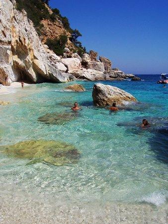 Baunei, Itália: Vicino a cala mariolu