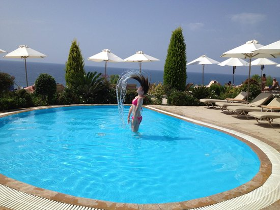 Ikos Oceania: Fun in the children's paddling pool !