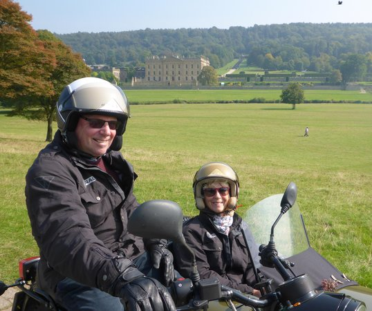Sidecar Safari Peak District- Day Tours: Chatsworth House