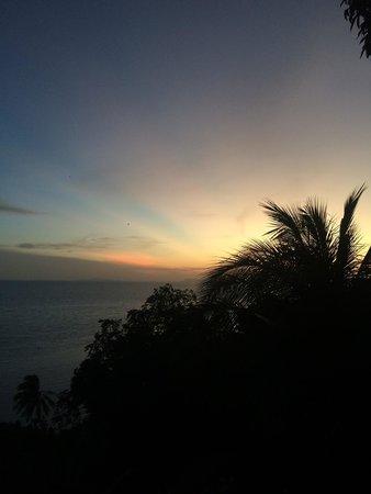 Blue Hill Beach Resort : the sunset