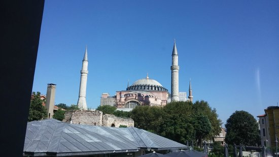 And Hotel : Hagia Sophia from our room