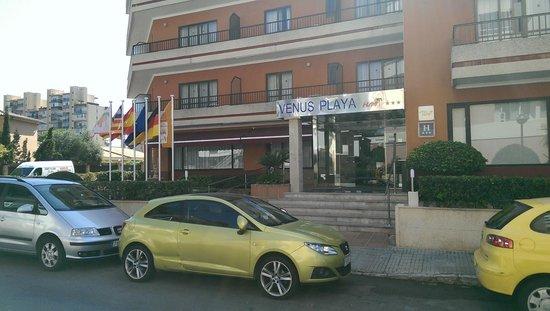 Hotel HSM Venus Playa: Hoteleingang