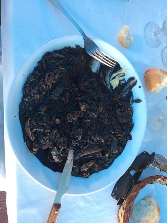 Planiol: Arroz negro caldoso