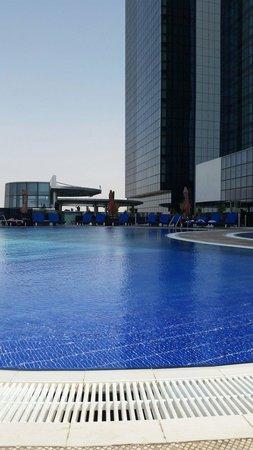 Novotel Abu Dhabi Gate: My favourite pool