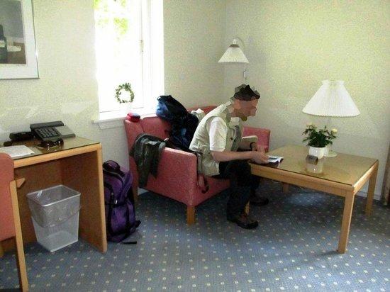 Best Western Hotel Knudsens Gaard: salottino