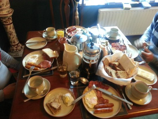 The Birches Bed and Breakfast : Breakfast