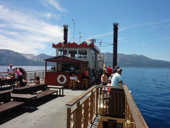 Tahoe Queen: Top deck