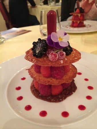 Chateau d'Ermenonville - La Table du Poete : Dessert du menu... Trop bon et original !