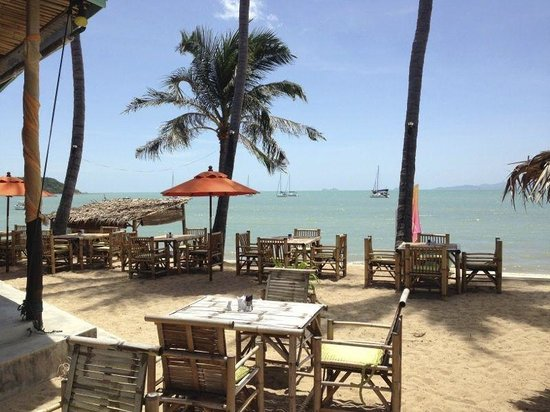 Secret Garden Beach Resort: Le restaurant