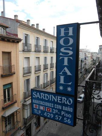 Hostal Sardinero: Vista