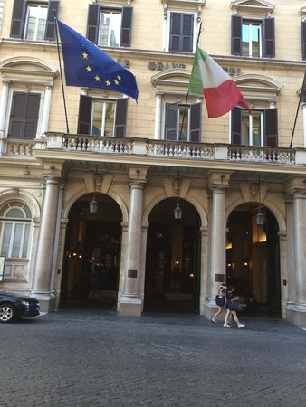 The St. Regis Rome : A.K.A The Grand Hotel