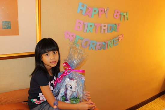 Regent Singapore, A Four Seasons Hotel: Birthday Surprises