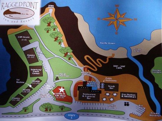 Ragged Point Inn and Resort: plan hotel