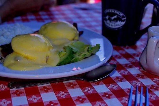 Creekside Cafe & Grill: BLT Eggs Benedict