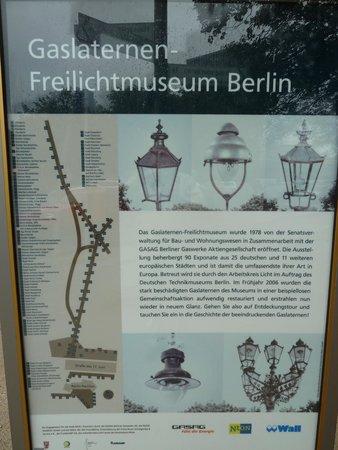 Gaslaternen Freilichtmuseum
