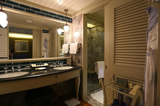 Mandarin Oriental, Bangkok : the bathroom