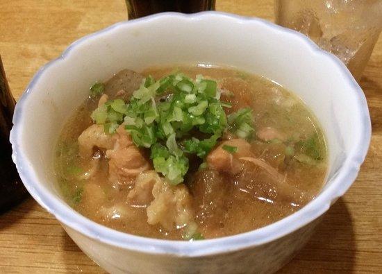 Toriki Main: chicken stew with radish