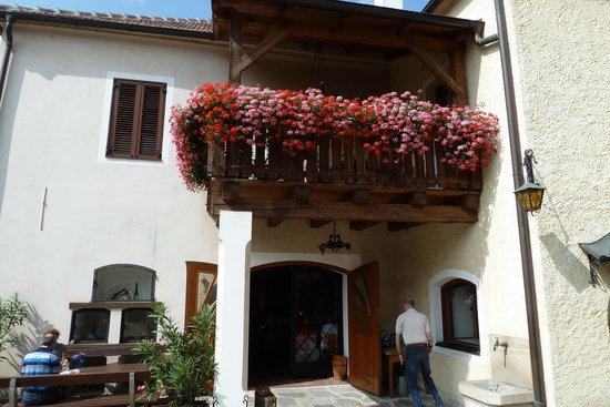 Weissenkirchen, Austria: Weinverkostung
