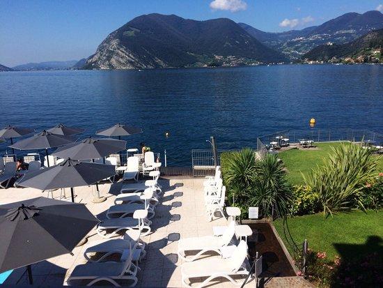 Hotel Rivalago: Blick aus dem Zimmer