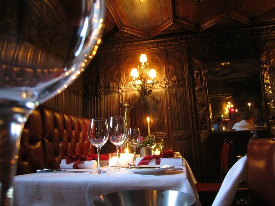 The witchery dining