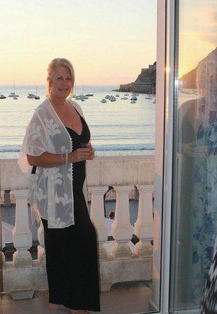 Hotel Niza : Our balcony