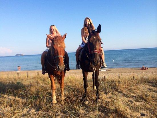 Nana's Horse Riding