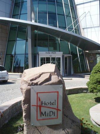 Ankara Hotel Midi : Main Entrance Hotel Midi