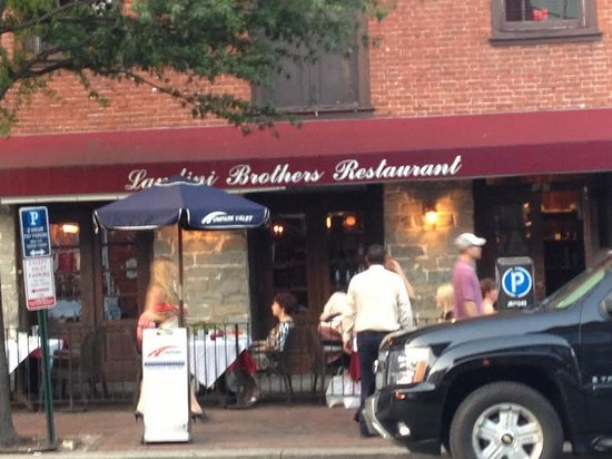 Landini Brothers Incorporated: Outside of the restaurant