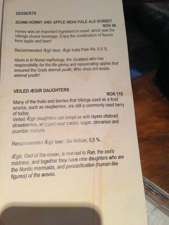 Aegir Brewery & Pub: Menu pages 7