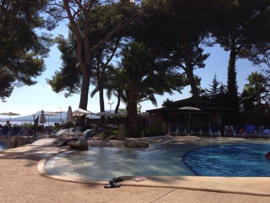 Hipotels Eurotel Punta Rotja & Spa: The pool bar