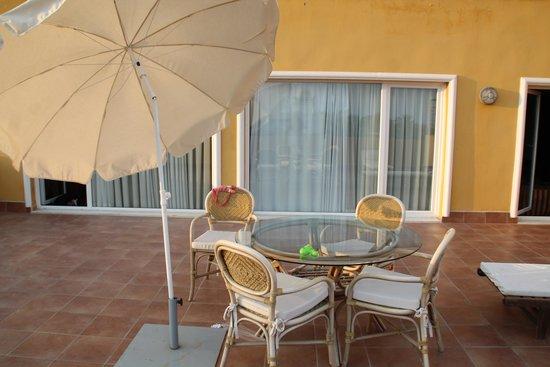 Zimbali Playa Spa Hotel: La Terraza