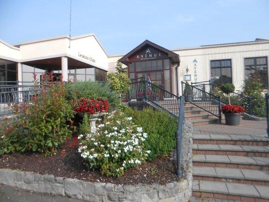 Four Seasons Hotel and Leisure Club: Hotel Terrace