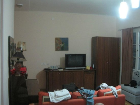 The Central Palace: Our living room