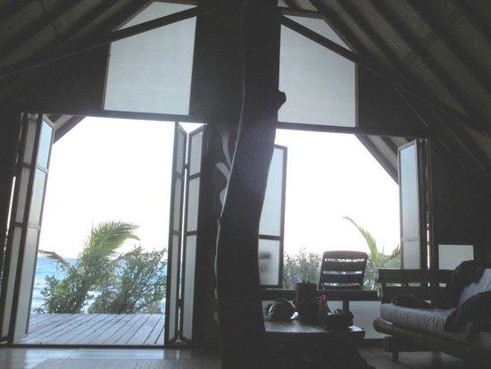 Tevahine Dream : la vetrata sul mare