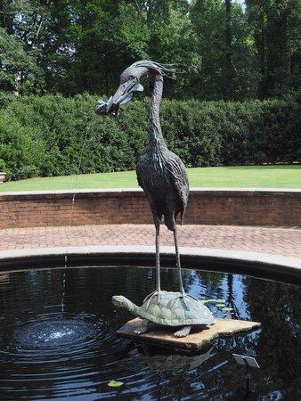 Huntsville Botanical Garden: Cedar Garden Sculpture - Unexpected Landing