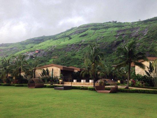 Della Adventure Resorts: View from the reception area