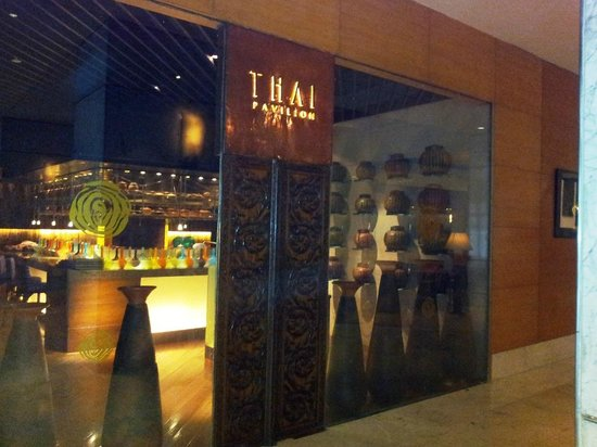 Vivanta by Taj - President, Mumbai: The Thai Pavilion and there are also 2 other restaurants- The Konkan Cafe and Trattoria.