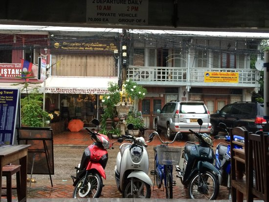 Funky Monkey Hostel : From the lobby to watch outside