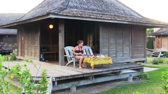 Hotel Matira : Il bungalow