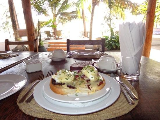 Ocean Restaurant: what a setting!