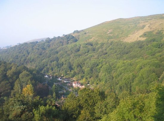 The Longmynd : View from bedroom window
