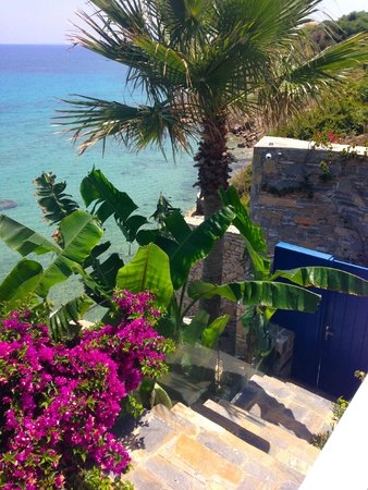 Tragaki, Grecia: Our private gate to the beach