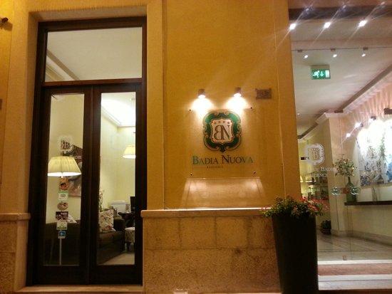 Badia Nuova Residence: Hotel intrance