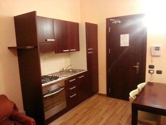 Badia Nuova Residence: kitchen