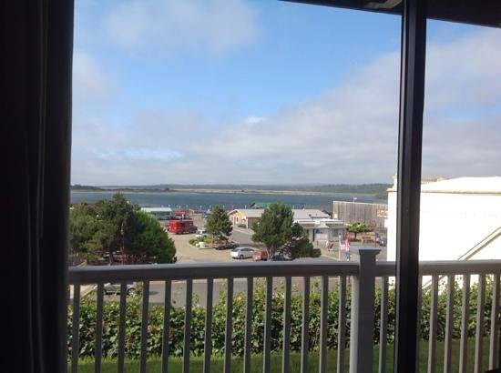Bandon Inn: the view from our room