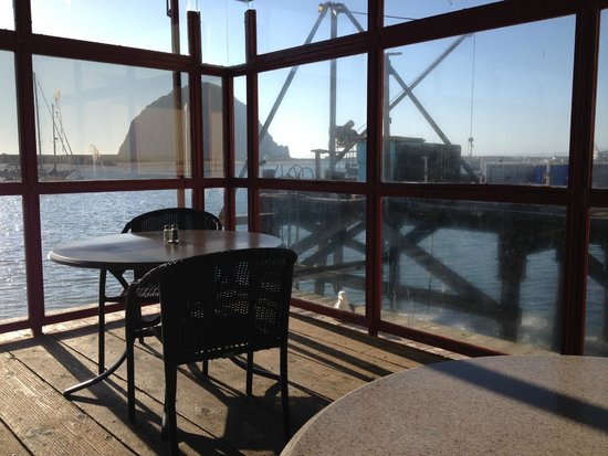 Dutchman's Seafood House: View from enclosed seating area