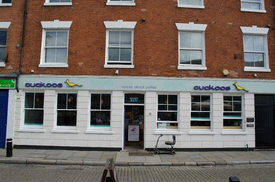 Cuckoos Cafe: front view